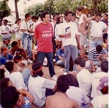 1995 - Primeira participação da UJR no Congresso da UBES