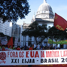 2008 - Encontro Internacional das Juventudes Antiimperialistas e Antifascistas (Brasil)