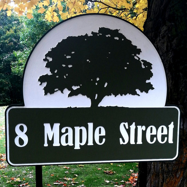 CNC Carved Signs