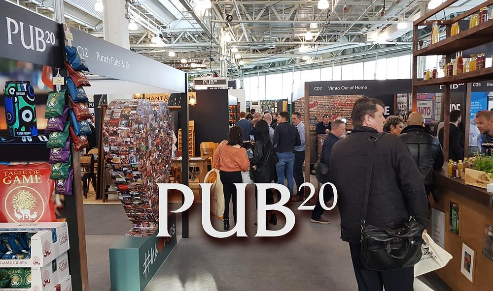 Photo of Pub20 trade show.