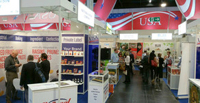 Any European buyer of dried fruit and nuts who's not at Anuga is nuts