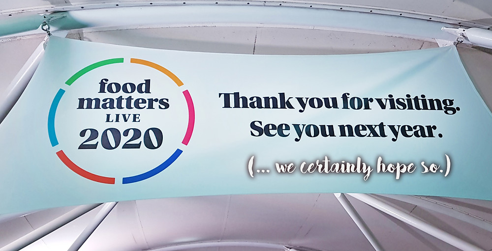 Photo of Food Matters Live banner