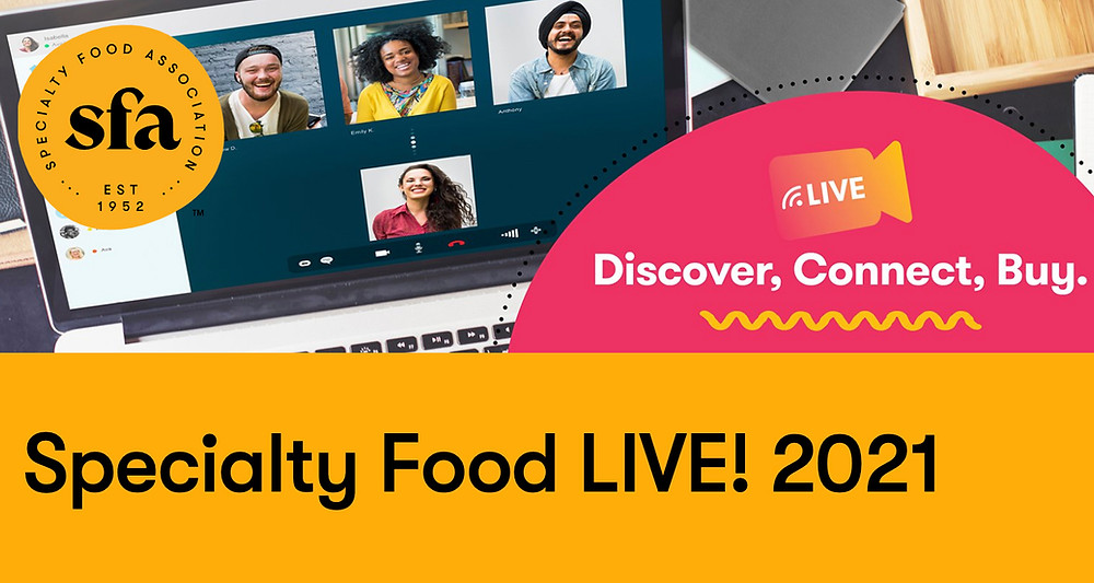 Specialty Food LIVE! 2021image and link to website