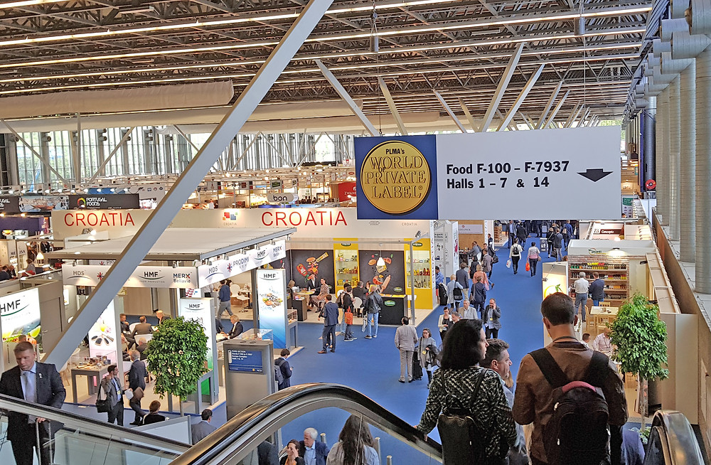 Photo of interior of exhibition hall at PLMA 2019 - for illustrative purposes only