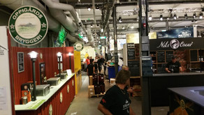 Setting up for the Stockholm Beer & Whiskey Festival