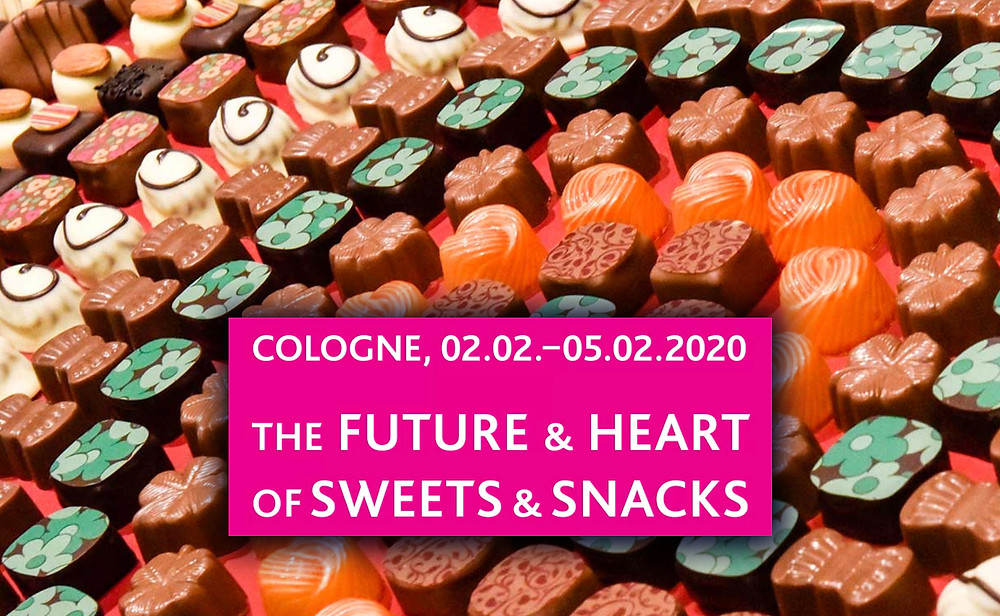 Image of sweets courtesy of ISM-Cologne 2020