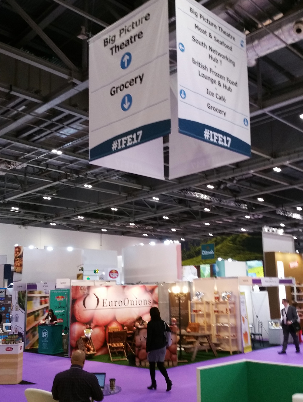 Photo of IFE Exhibition, London