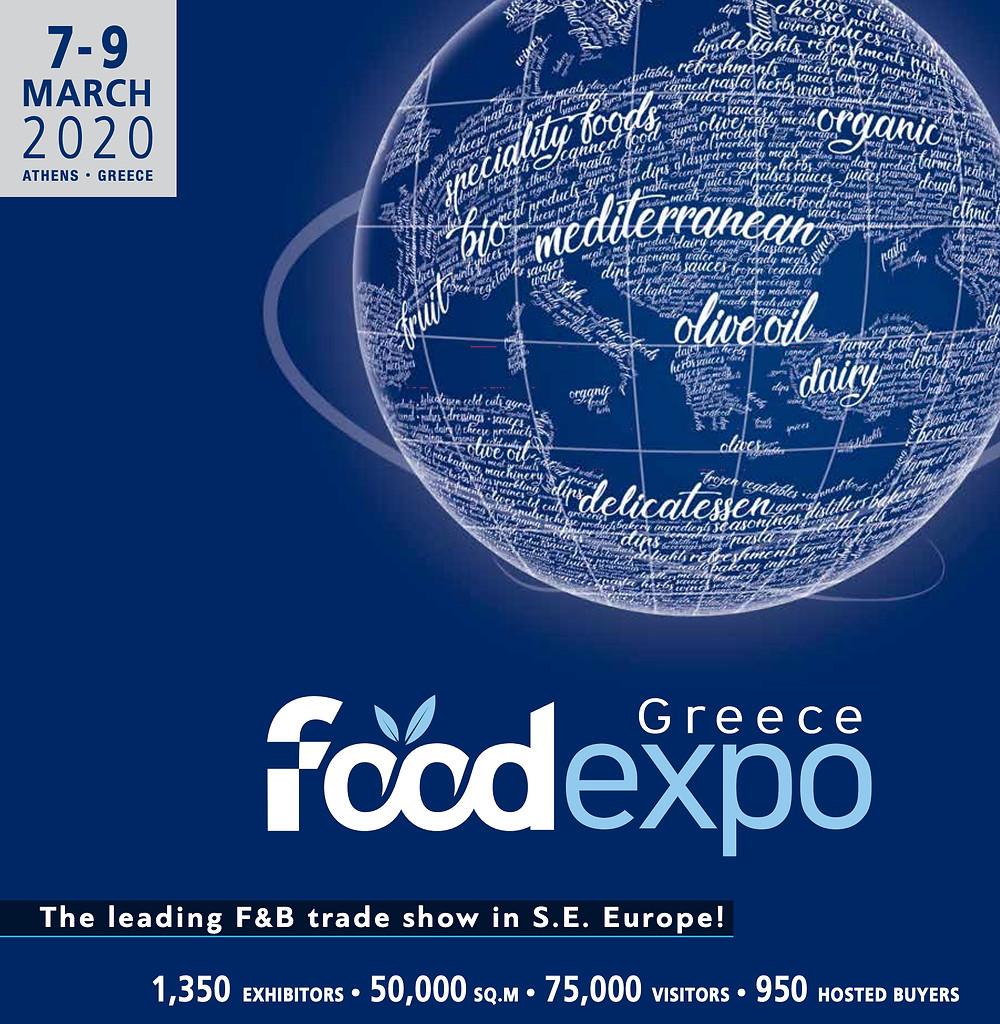 Food Expo Greece 2020 Brochure Cover image