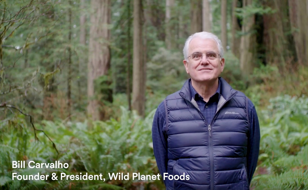 Video of Bill Carvalho, founder and president of Wild Planet Foods.