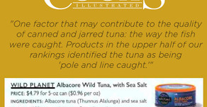 Wild Planet Tuna is top with top chefs!