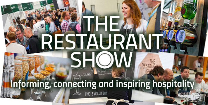 Collage of images promoting The Restaurant Show in London 2019