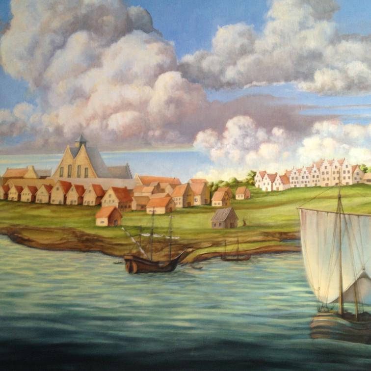 detail: Manhattan 1650