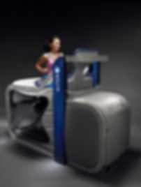 Woman on Alter G Treadmill