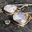 Thumbnail: Plume Agate earrings in Sterling Silver
