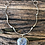 Thumbnail: Kaleidoscope Stone Necklace with a forged sterling silver chain.