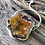 Thumbnail: Laguna Agate and forged silver necklace