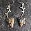 Thumbnail: Kaleidoscope Stone Sterling Silver Earrings