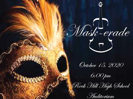 Concert Announcement: RMSO Mask-erade/Beginner Showcase