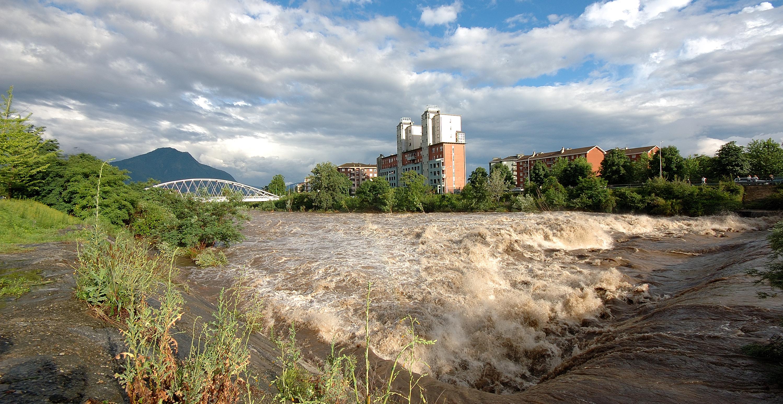 Verbania fiume in piena