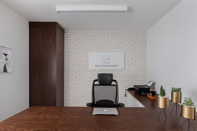Consultório - Clínica de Microfisioterapia com ar de casa