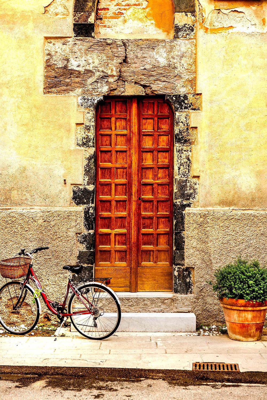 Bike, Monterosso al Mare, Cinque Terre, Italy