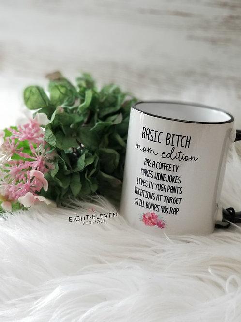 Basic Mom - Coffee Mug 11oz
