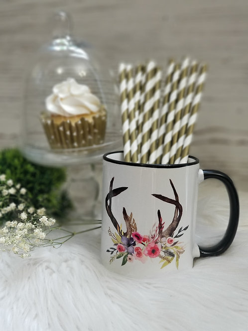 Antlers - Coffee Mug