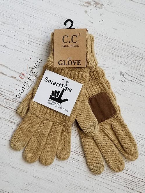 CC Gloves - Camel
