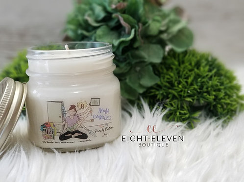 Mom Candle - Family Pic Day