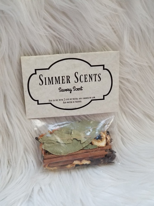 Savory Scent - Simmer Scent