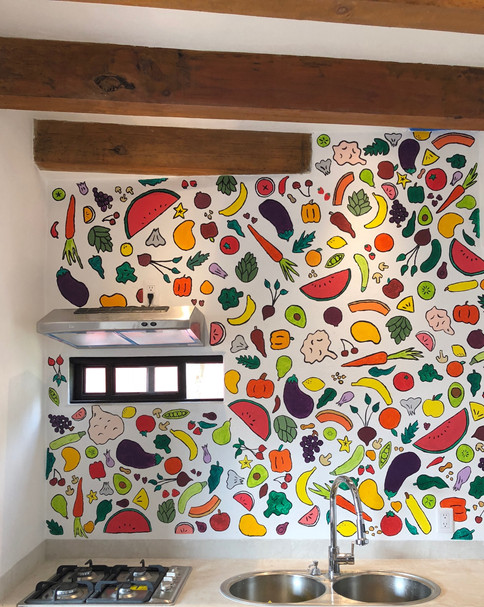 Kitchen Mural