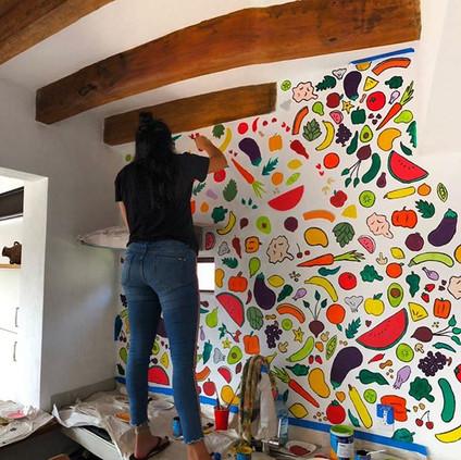 Kitchen Mural