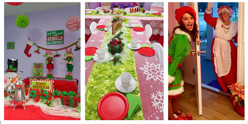 Very Merry Tea Party with Mrs. Claus (Second Seating)