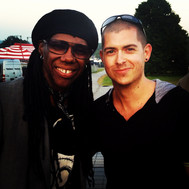 With Nile Rodgers