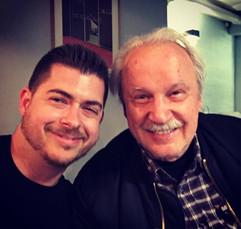 With Giorgio Moroder