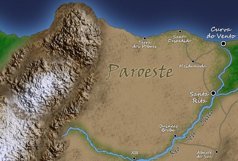 Paroeste, o ermo ocidental