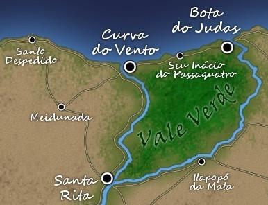 Vale Verde: centro próspero de uma terra árida