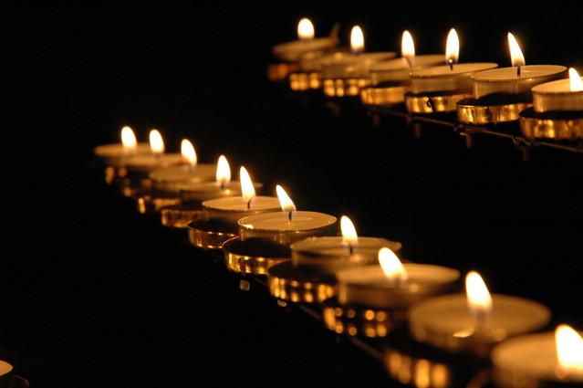 Cada crença é como uma vela na escuridão.