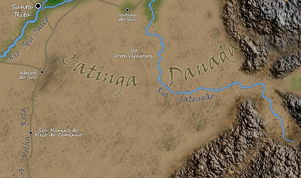 Catinga Danada: uma terra de secura e monstros