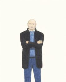 o. T. ( Evelyn Richter: Wallraf-Richartz-Museum. Köln1978 In: Ursula Arnold, Arno Fischer, Evelyn Fischer - Gehaltene Zeit, Museum der Bildenden Künste Leipzig)