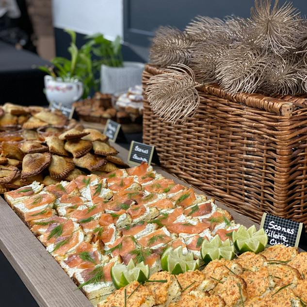 Scones rillettes de chorizo & Scones au saumon