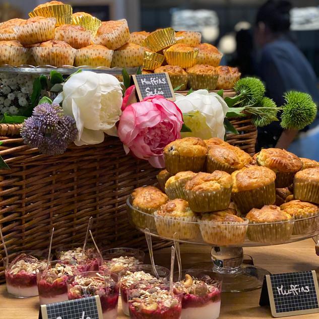 Granola & Muffins salés