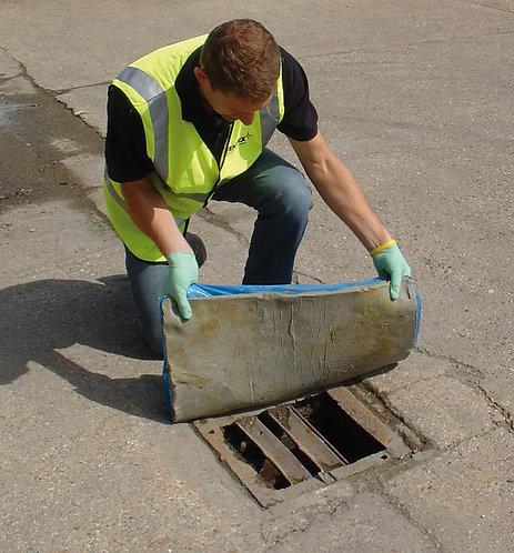 Plug rug drain covers