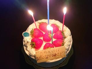 誕生日おめでとう🎂