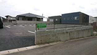 龍田3丁目に月極駐車場開設