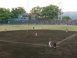 プロ野球観戦in藤崎台