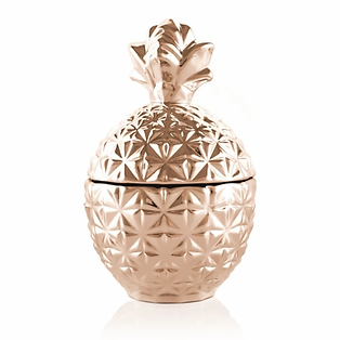 Rose Gold Small Pineapple