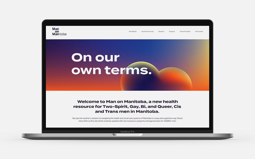 Man on Manitoba Website