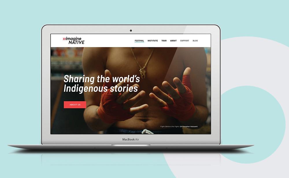 ImagineNATIVE Homepage