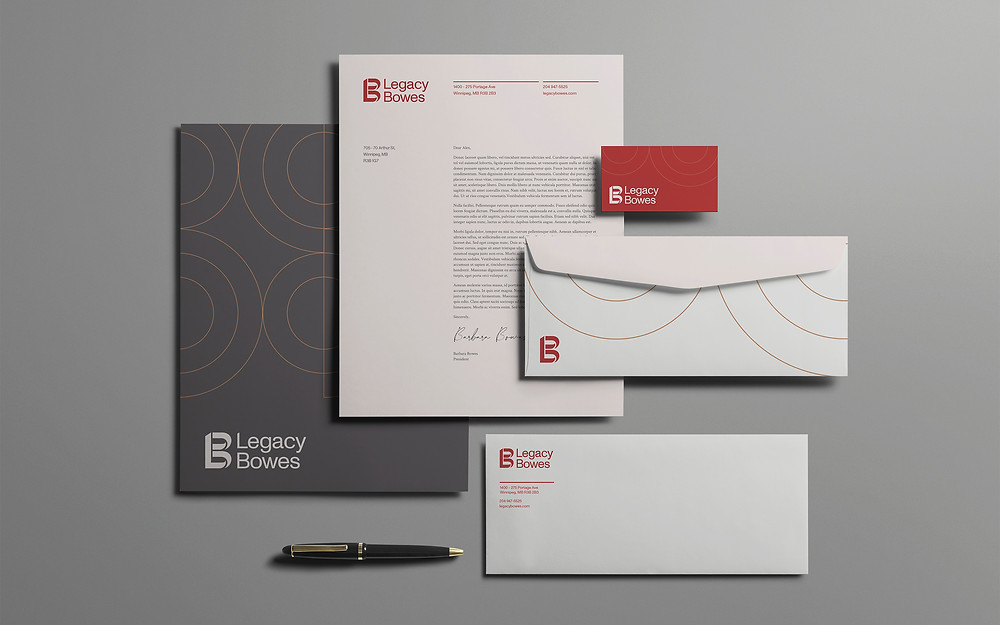 Legacy Bowes Stationary